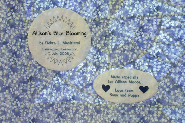 AllisonsBlueBlooming_label