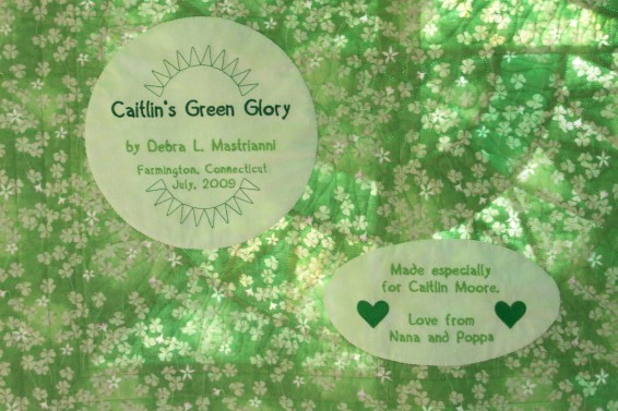 CaitlinsGreenGlory_label